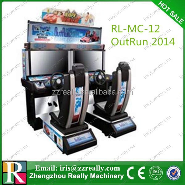 Outrun Arcade Game Machine / Arcade Machine / Simulator Racing Game Machine