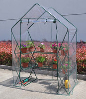 Folding Walk in lean to Greenhouse