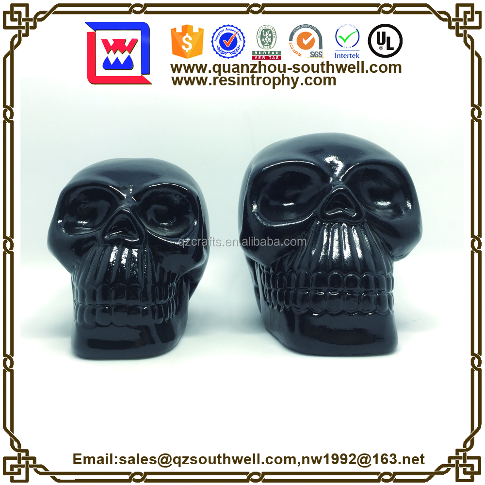 wholesale ceramic skull money box new added products 2017