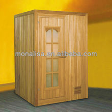 Monalisa sauna room wood sauna house infrared heater saunas