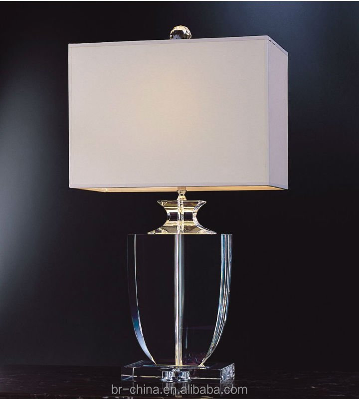 indoor lighting hot sale high quality classic style crystal table/desk lamp for home/hotel
