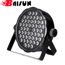 BAISUN brand Festival Disco 54pcs RGBW 8 Channel DMX512 Stage Lighting led par light