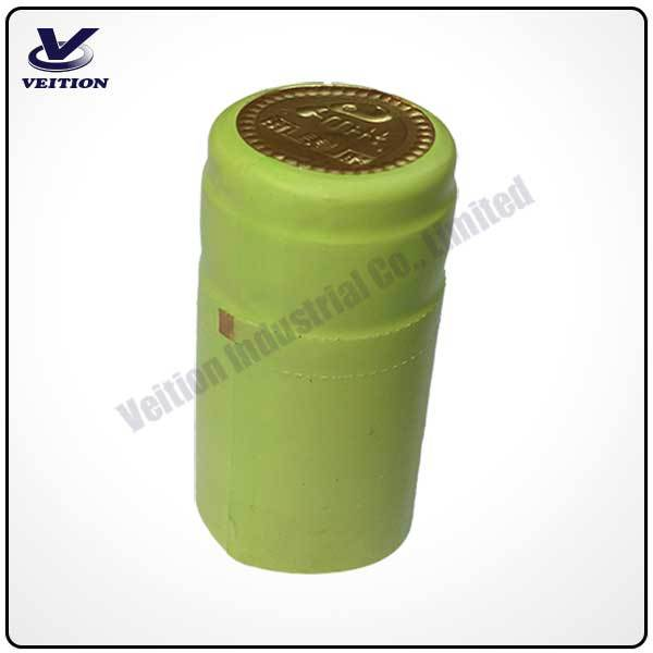 PVC capsule for bottle cap