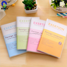 Colorful Plastic PVC Sheet for Book Cover 0.25mm