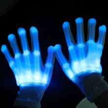 Xinhualong Multi-Color/solid Color Glow in the Dark Event LED Magic Glove