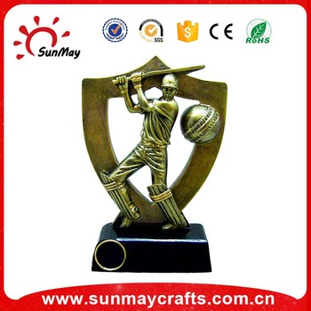 Polyresin sports trophy
