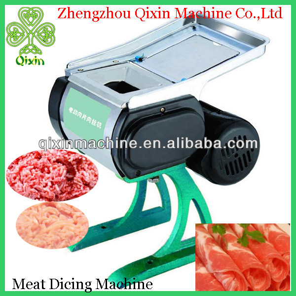 QIXIN high quality electric automatic frozen meat dicing machine for sale