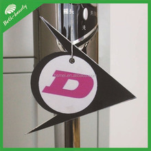 hanger promotional paper home air freshener car perfume