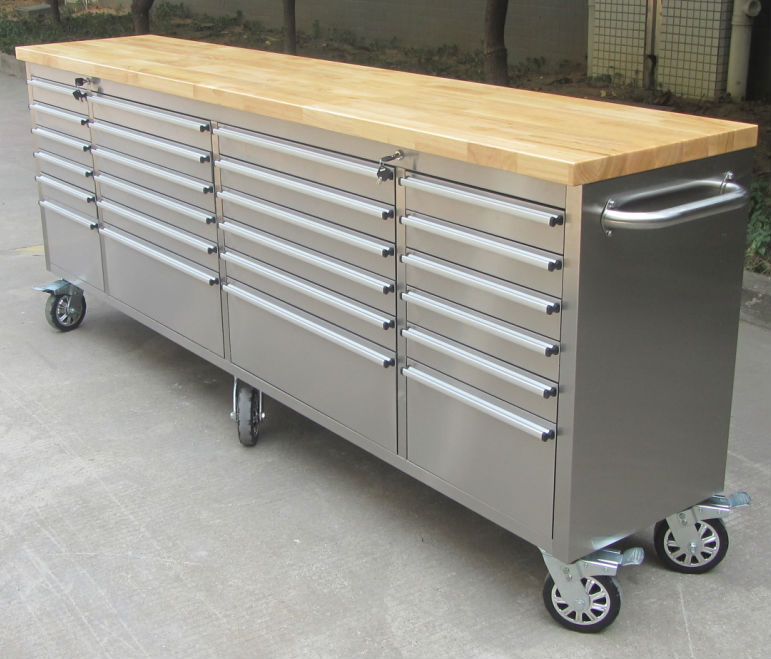 2015 Hot sale stainless steel tool master beach industries tool box