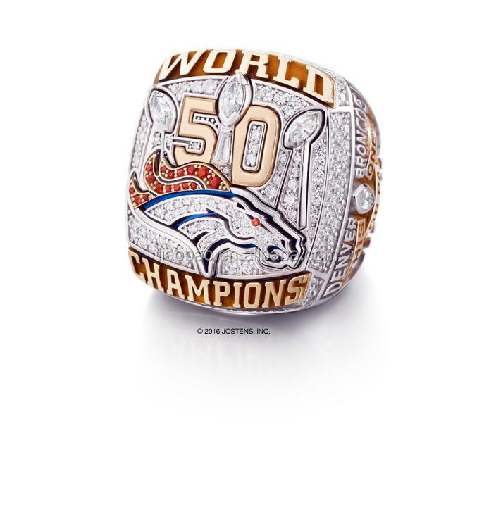 Liaobao CH1152 Newest Fashion Custom 2016 Denver Broncos Super Bowl Replica Championship <strong>Rings</strong>