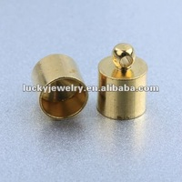 Wholesale Top Quality Cheap Fashion Gold Magnetic End Caps Jewelry for Jewelry Making