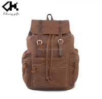 2015Hot new brand popular fashion canvas backpacks in guangzhou