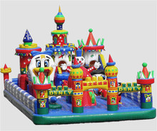 Popular and hot sell inflatable bouncy castle for kids, playground equipment, air bounce