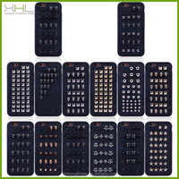 New Mobile Phone Cover Case For iPhone 6 Plus Rivet Studs Case
