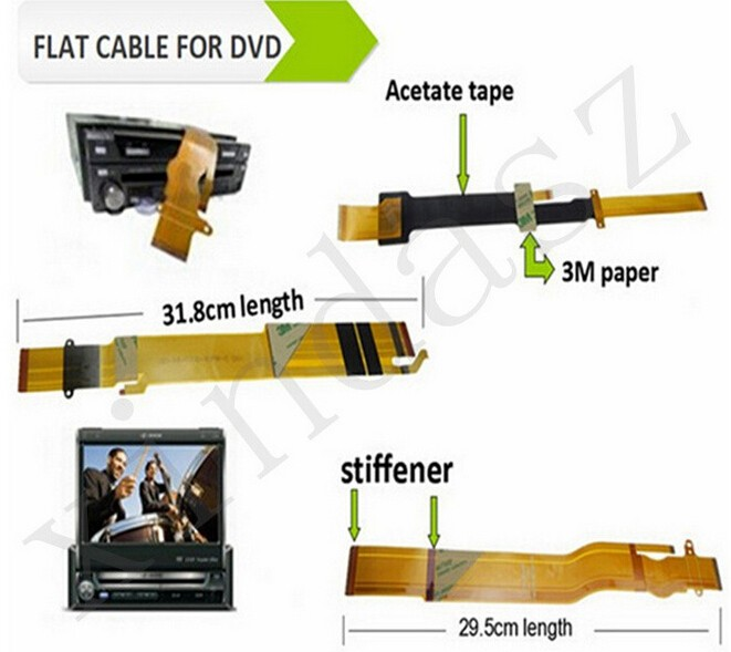 9560 P/N 123020020107 FPC flat cable for car dvd