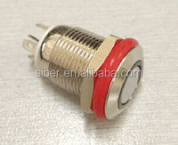 12MM LED illuminated Metal Push Button Switches