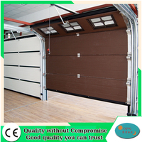 Sandwich panel for cheap finger protection sectional garage door