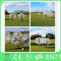 2014 cheap sports outdoor human sized soccer bubble ball