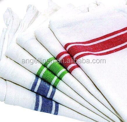 Customized Vintage Kitchen Linen Cotton Tea Towel In