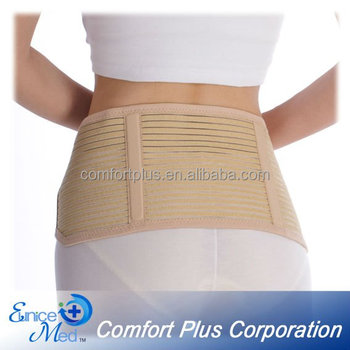 OBM breathable Elastic abdominal lumbar support belt