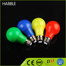 Wholesale led plastic color bulb housing 3W china led bulb