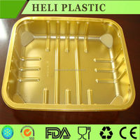 Disposable Plastic fresh vegetable/meat/beef/food packaging tray
