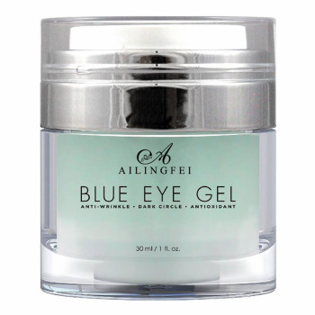OEM Factory Anti-wrinkle Remove Dark Circles Blue Eye Gel