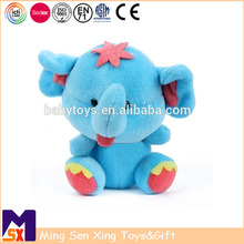 Little Cute Plush Elephant Toy Stuffed Soft Wild Animal with Long Nose