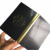 High end design matt with UV line cover black and golden magnet candle box with EVA insert