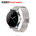 K88H Smart Watch Pulse Monitor Fitness Tracker Wristwatch BL4.0 for Android and iOS Pedometer Watches OLED Fashion Wristwatch
