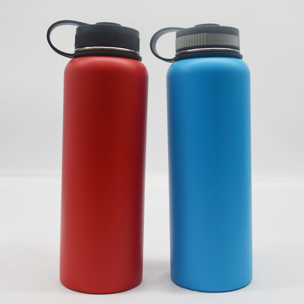 wide mouth custom printed flask 40oz vacuum insulated buy flask
