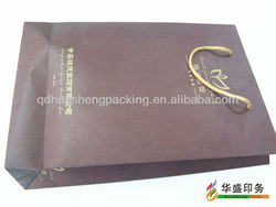 Hot Sale Customized paper mobile phone packaging bags with handle