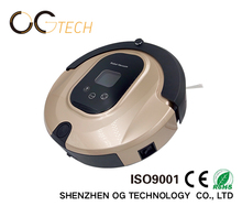home appliance floor sweeping robotic vacuum cleaners with LCD display