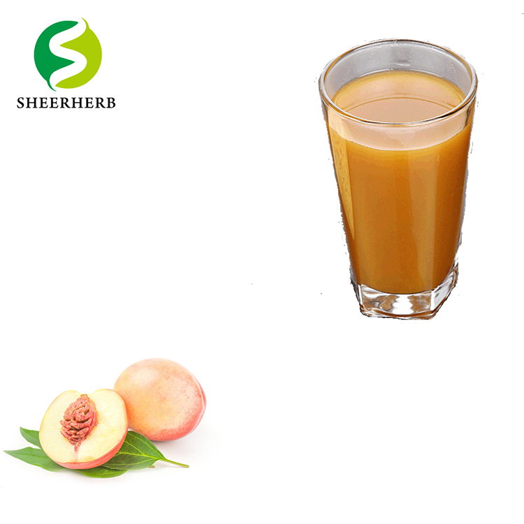 High Concentrated Peach Flavor Syrup Honey Peach Drink Natural Peach Fruit Juice