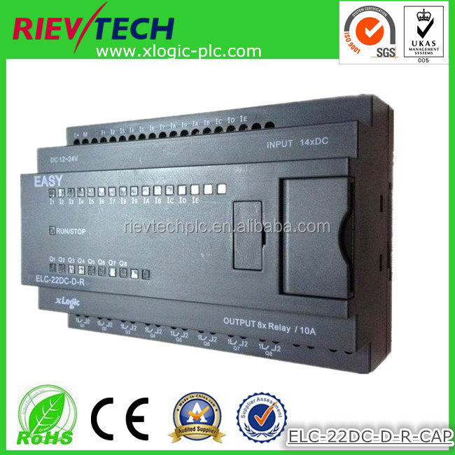 programmable logic controller,monitoring controller,ideal althernative of pico controller ELC-22DC-D-R-CAP