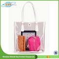 China Factory Wholesale Pvc Transparent Beach Bag 2015