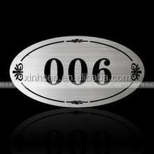 Printing machines custom metal logos car with delicate tags for handbags