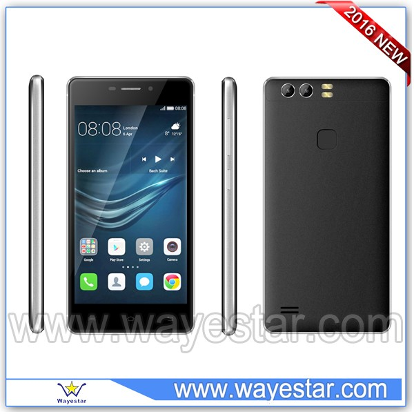 5.0 inch Android 4.4 Mobil Telefon 3G WCDMA Skype WIFI 2 Cameras in Dubai