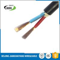 flexible round rvv 3 cores electric cable fire resistant cat6 cable