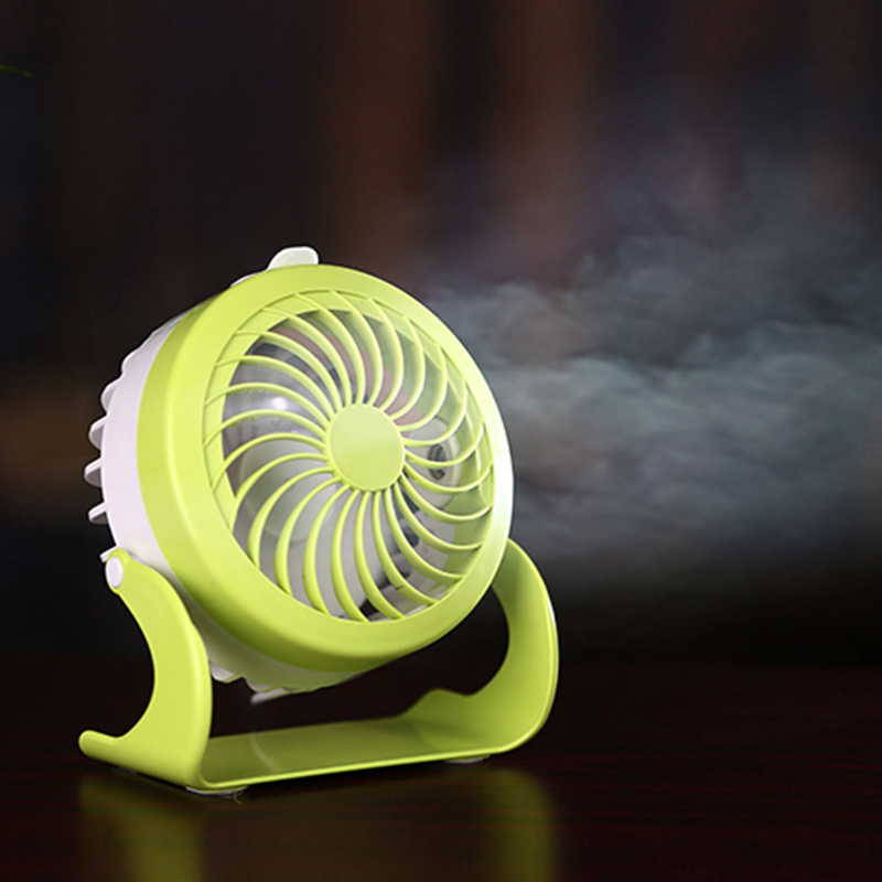 Shenzhen Table Water Spayer USB Rechargeable Air Cooler Mist Mini <strong>Fan</strong>