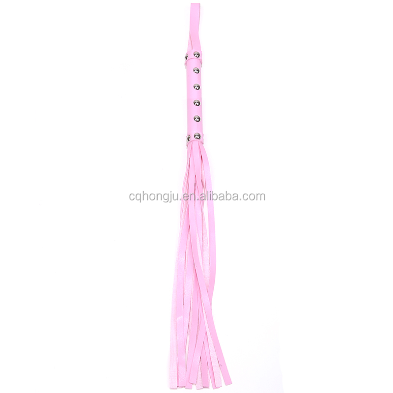 Handcraft Leather Sex Products sexy safety whips