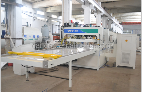 HF board jointing machine/ finger jointing CGPB-46P