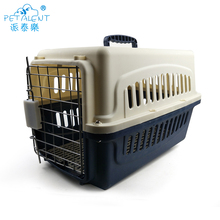 Good quality aviation cage,plastic and metal dog cage