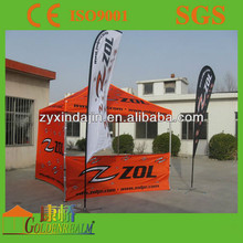Folding Gazebo marquee tent militery ez up instant folding Canopy tent with 4 banner