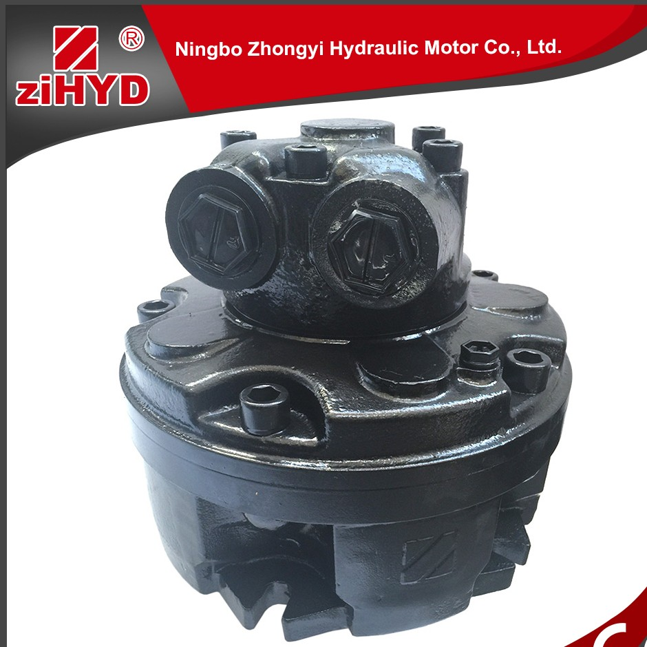 Piston hydraulic motor/ radial piston air motor