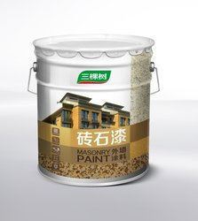 3Trees Customized Color Building Coating Granite Wall Stone Paint