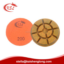 3Inch and 4 Inch Concrete Stone Resin Metal Bond Diamond Grinding Pads