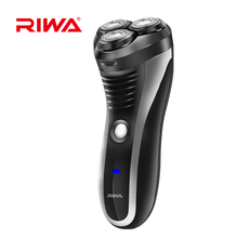 Rechargeable waterproof men shaver with floating 3 shaving heads