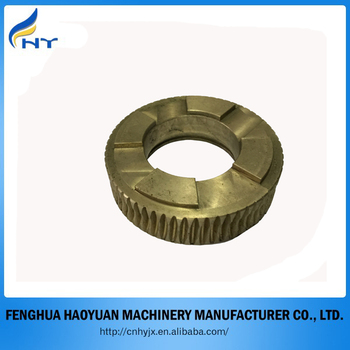 hot selling custom brass worm gear bronze worm gear for valve brake