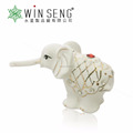 Hot selling ceramic elephant home decoration pieces